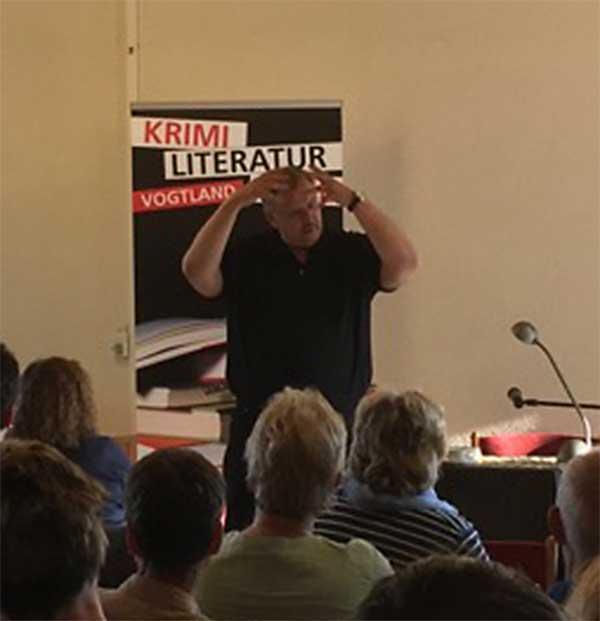 Peter Wilhelm bei den Krimi-Literaturtagen Vogtland 2016