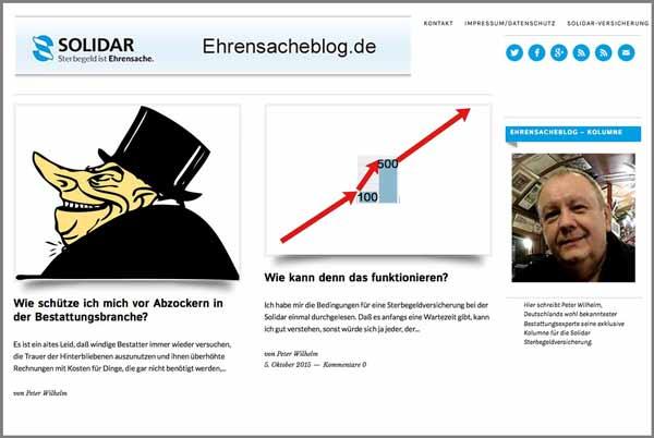 Blogseite Solidar